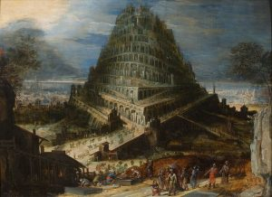 Tower of Babel by Hendrick van Cleve